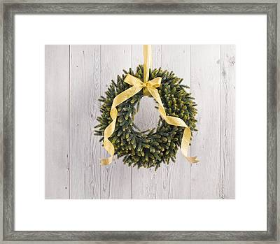 Framed Print featuring the photograph Advents Wreath by Ulrich Schade