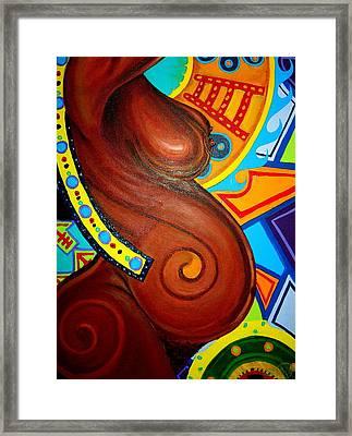 Aesthetic Ascension Series Framed Print by Malik Seneferu
