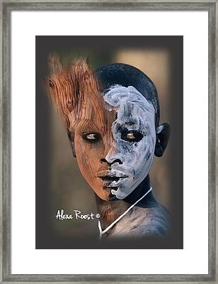 Africa Pure 9 Framed Print