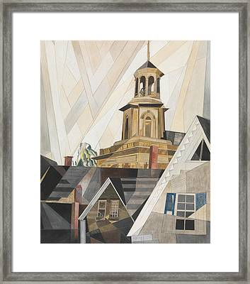 After Sir Christopher Wren Framed Print by Charles Demuth