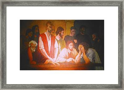 After The Last Supper Framed Print by G Cuffia