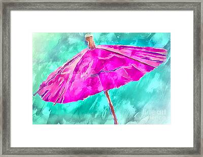 After The Rain Framed Print by Krissy Katsimbras