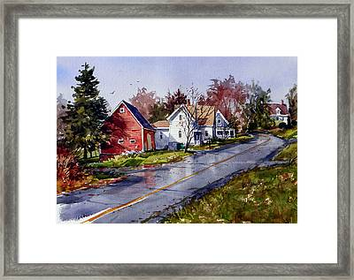 After The Rain Framed Print by Tony Van Hasselt
