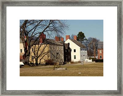 Afternoon Shadows Framed Print by Lois Lepisto