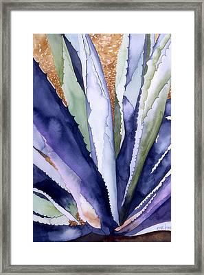 Agave 3 Framed Print by Eunice Olson