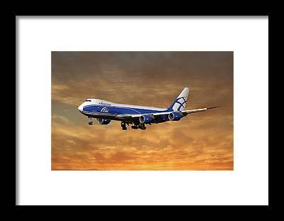 Cargo Plane Framed Prints