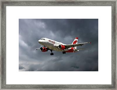 Air Canada Rouge Airbus A319-114 Framed Print