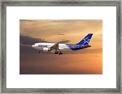 Air Transat Framed Print