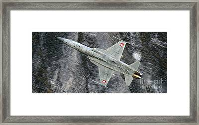 Aircraft Framed Print by Angel  Tarantella
