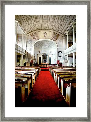 Aisle Of God Framed Print