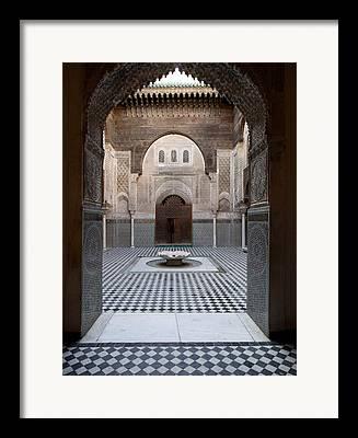 Moroccan Culture Framed Prints