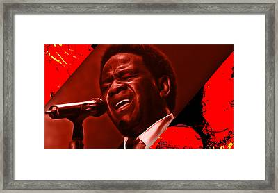 Al Green Collection Framed Print