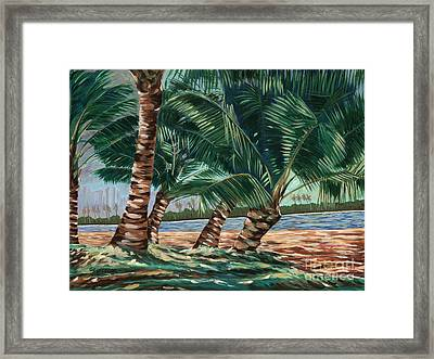 Ala Moana Beach Framed Print