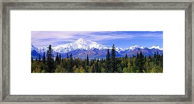Alaska Range, Denali National Park Framed Print by Panoramic Images
