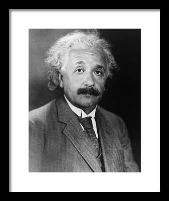 Albert Einstein Framed Prints