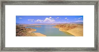 Albiquiu Reservoir, Route 84, New Mexico Framed Print