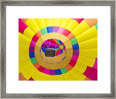 Albuquerque Balloon Fiesta Framed Print by Kobby Dagan