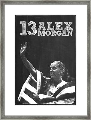 Alex Morgan Framed Print