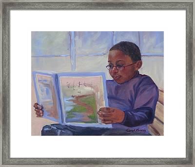 Alex Reading Framed Print