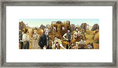 Alexander Majors Framed Print