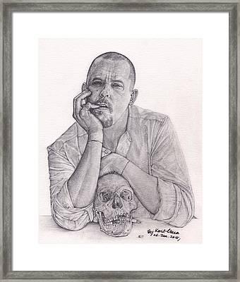 Alexander Mcqueen Savage Beauty Framed Print by Kent Chua