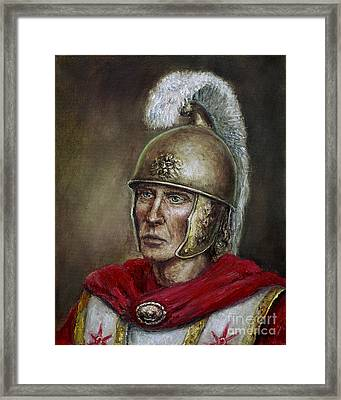 Alexander The Great Framed Print by Arturas Slapsys