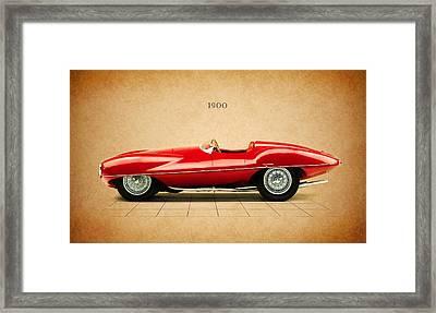 Alfa Romeo 1900 Framed Print by Mark Rogan