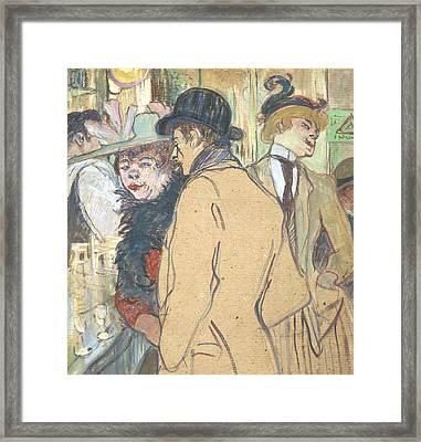 Alfred La Guigne Framed Print