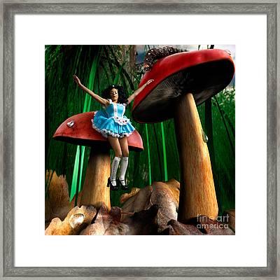 Alice In Wonderland Framed Print by Oleksiy Maksymenko