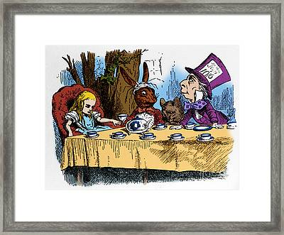 Alice In Wonderland Framed Print