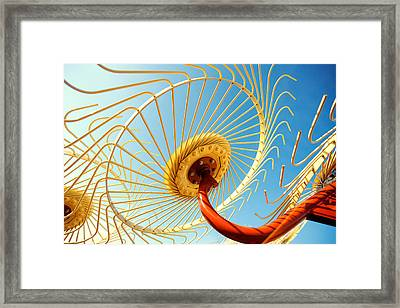 Alien Arms Framed Print