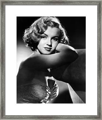 All About Eve, Marilyn Monroe, 1950 Framed Print