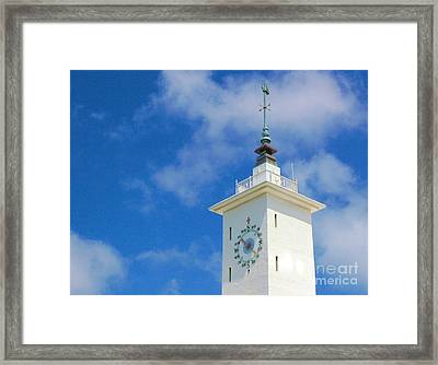 All Along The Watchtower Framed Print by Debbi Granruth