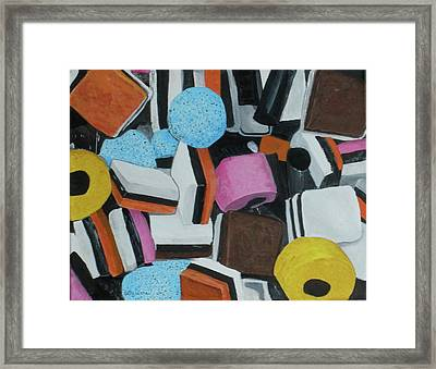 All Sorts Framed Print by Betty-Anne McDonald