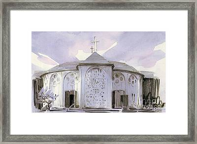 All Souls Church Framed Print by Donald Maier