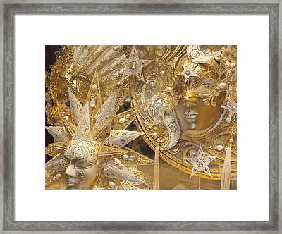 All That Glitters Framed Print