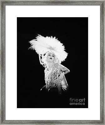 Alla Nazimova (1879-1945) Framed Print by Granger