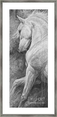 Allegro Framed Print by Silvana Gabudean Dobre