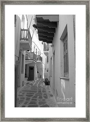 Alley Way Framed Print