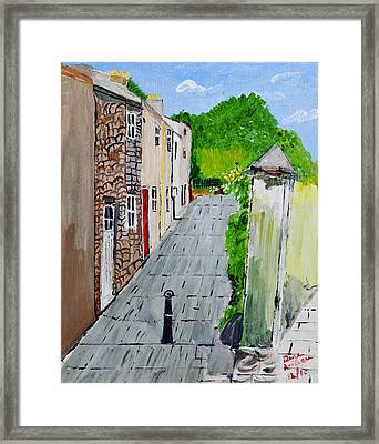 Alleyway Framed Print