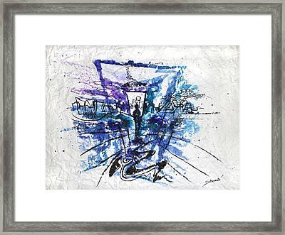 Alone In The Dark Framed Print by Alexey Stoyanov