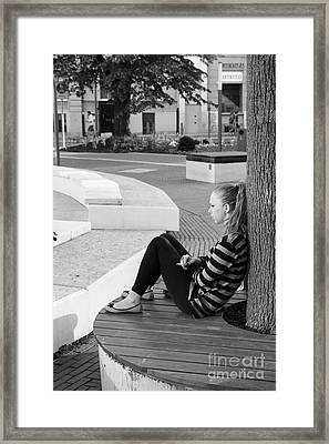 Alone Framed Print by Jivko Nakev