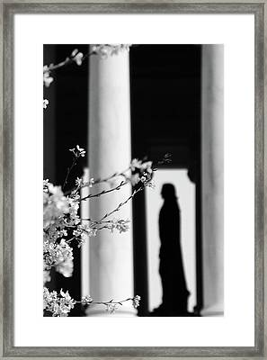 Framed Print featuring the photograph Alone by Mitch Cat