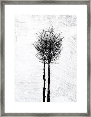 Alone Together Framed Print by Odd Jeppesen