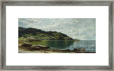 Along The Maine Coast Framed Print