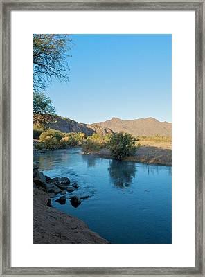 Along The Verde River 14 Framed Print by Susan Heller