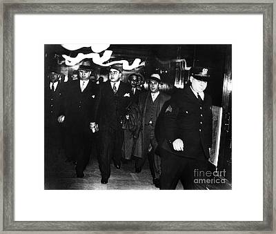 Framed Print featuring the photograph Alphonse Capone (1899-1947) by Granger