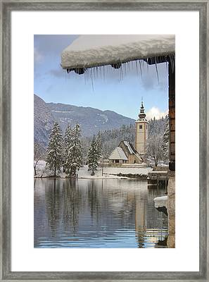 Alpine Winter Clarity Framed Print
