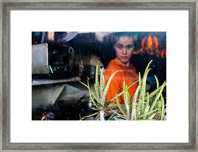 Al's Breakfast Framed Print