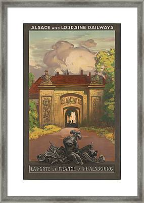Alsace And Lorraine Railways Framed Print